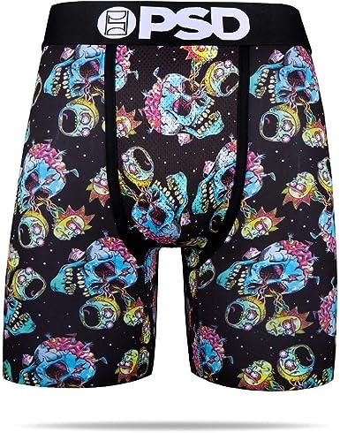PSD Underwear Men/'s Rick /& Morty Look Athletic Boxer Brief