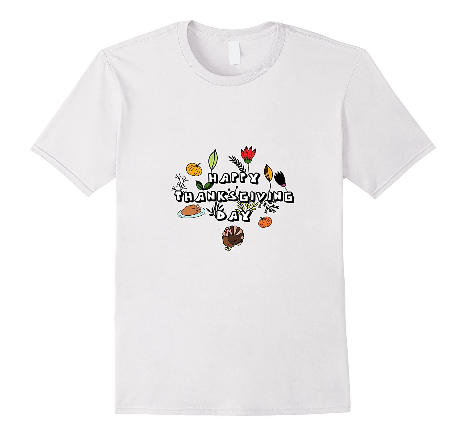 Happy Thanksgiving day T-shirt. Thanksgiving holiday T-shirt-ANZ