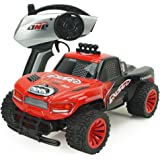 POBO RC Car 1/16 2.4GHz Remote Control Vehicle Off-Road Truck 2WD High Speed Rock Climber Electric Racing Buggy with Light