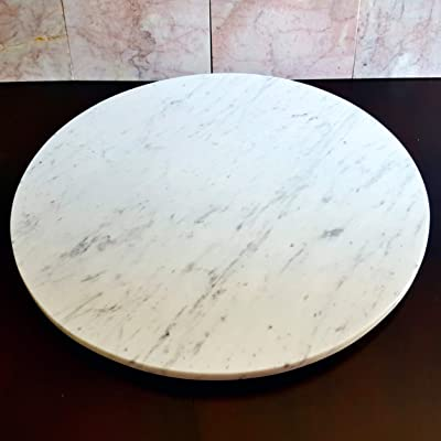 Buy Large Stone Lazy Susan Turntable Rotating Tray Dining Table Centerpiece Serving Plate 30 Inch Online In Kazakhstan B07tqgzrhn