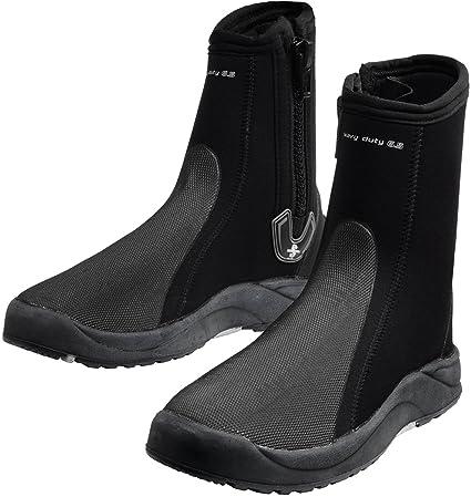 Amazon.com: SCUBAPRO Heavy Duty 6,5 mm botas, Negro: Sports ...