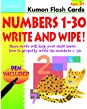 Numbers 1-30 Write & Wipe Flash Cards