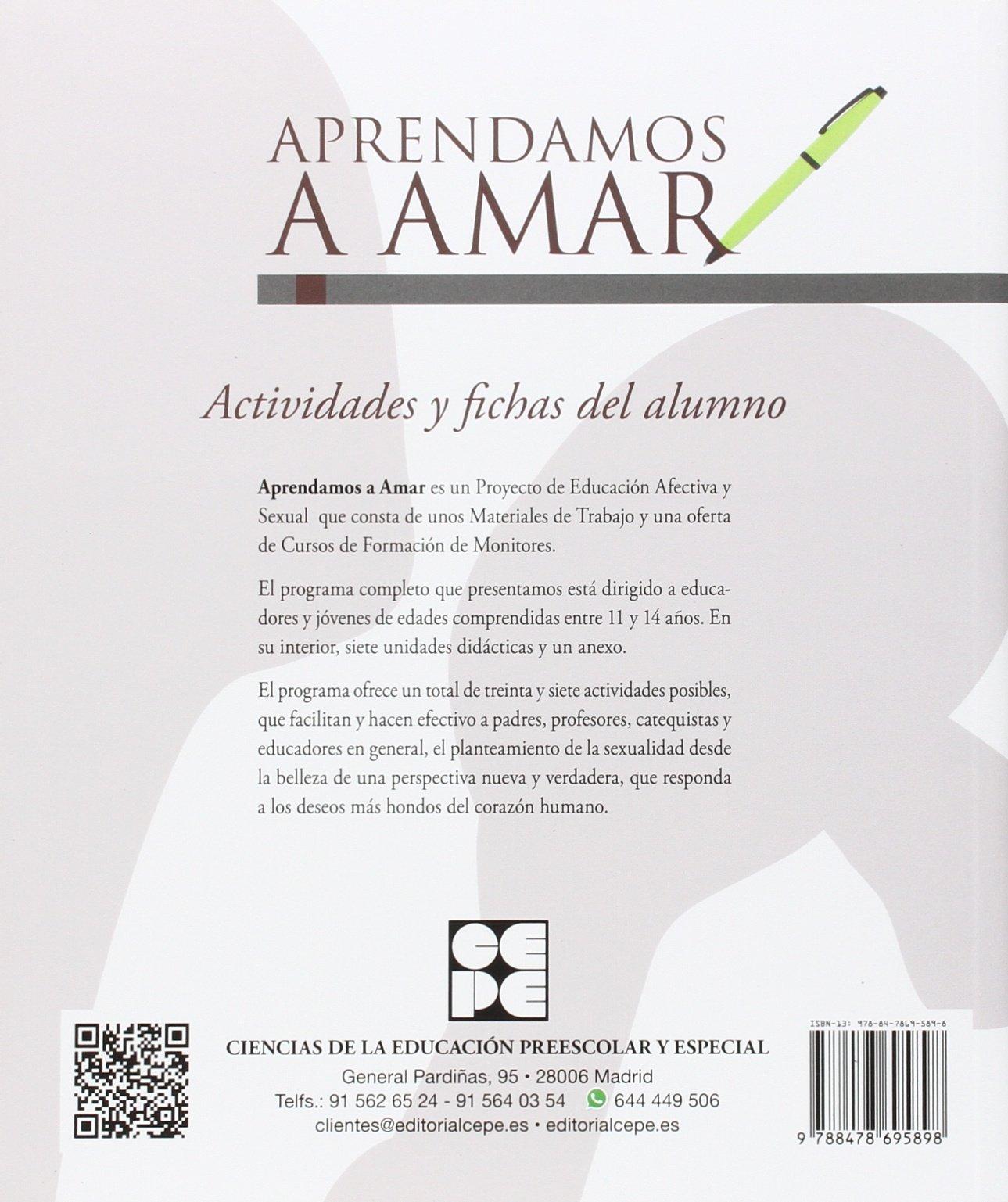 APRENDAMOS A AMAR, ACTIVIDADES Y FICHAS: Amazon.es: NIEVES GONZÁLEZ RICO: Libros