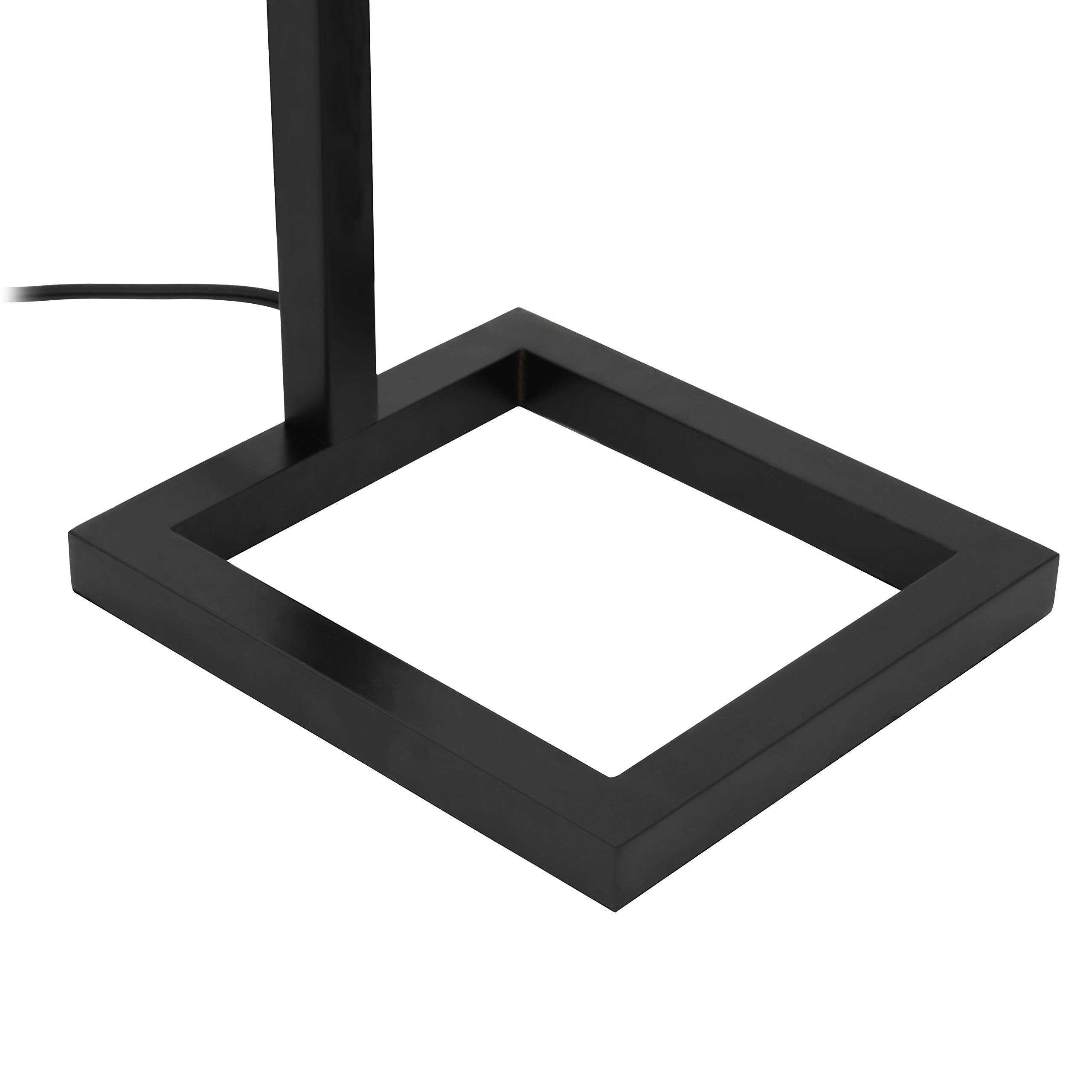 Henn&Hart FL0014 Modern Farmhouse seeded Task Lamp, One Size Black by Henn&Hart (Image #5)