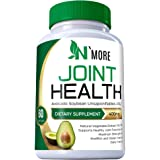 N'More Avocado Soybean Unsaponifiables Joint Health Supplement 400 mg, Non-GMO, Dairy, Gluten & Shellfish Free, 60 Day…