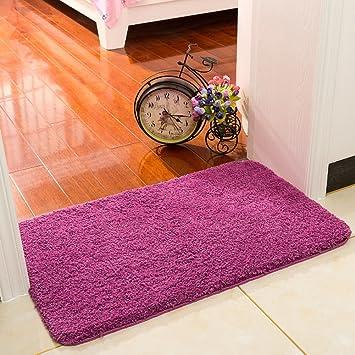 Dekorative Teppiche Teppich Badezimmer Dicke Matten Schlafzimmer Vakuum Pad  Bett Decke Anti Bakterielle Schimmel