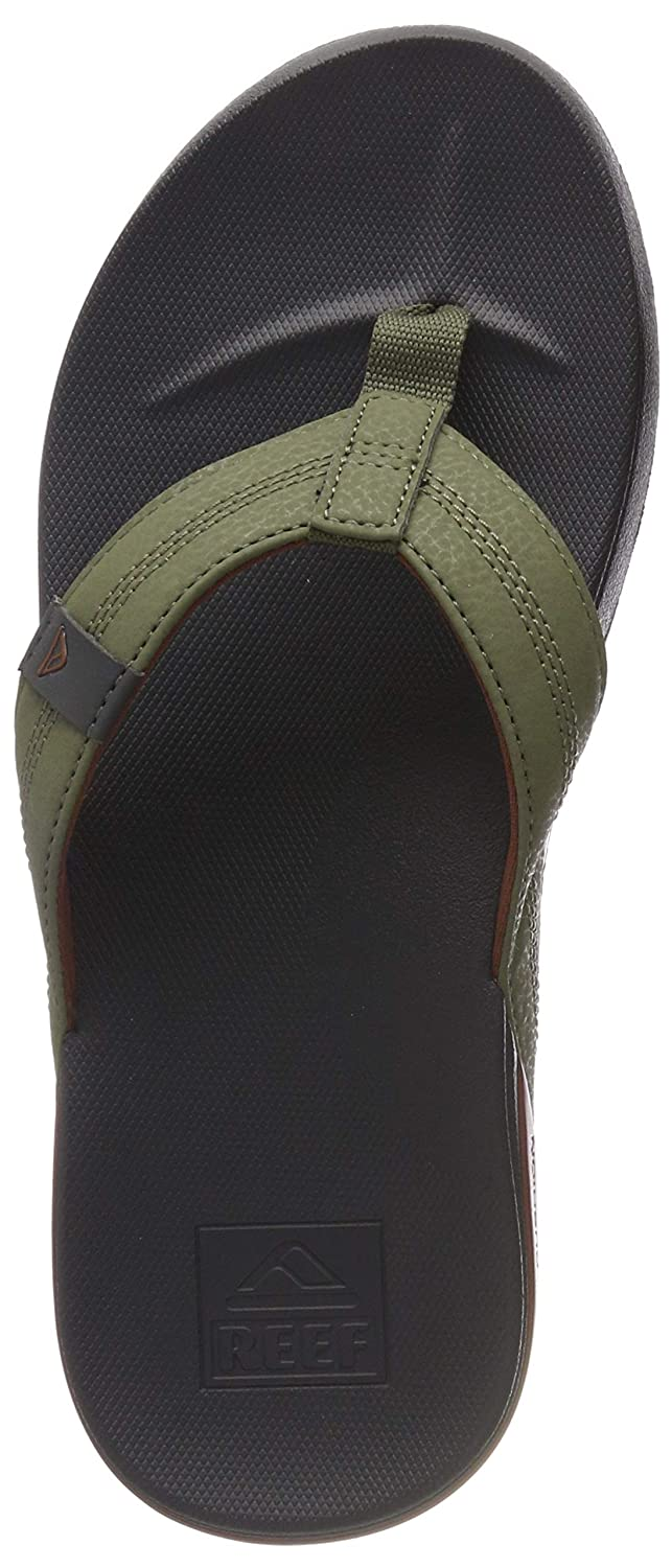 TALLA 47 EU. Reef Cushion Bounce Phantom, Chanclas para Hombre