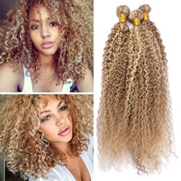 Amazon Com Light Brown With Blonde Highlights Piano Hair Weave