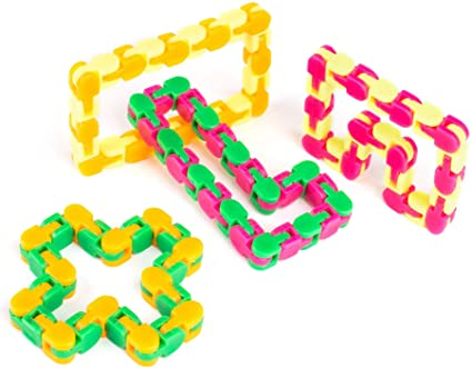 Click Fidget Toy Knots Funny Fidget Chain Anti Stress Toy for Kids Adult Puzzle Educational Toys Random Color Toys for Children Puzzle Toys