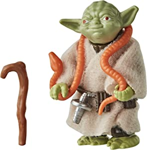 Star Wars Retro Collection Yoda Toy 3.75-inch Scale Star Wars: The Empire Strikes Back Action Figure, Toys for Kids Ages 4 and Up