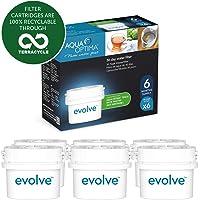 Aqua Optima Evolve 6 maanden verpakking, 6 x 30 dagen waterfilters - Fit BRITA* Maxtra* (niet Maxtra+*) - EVS602