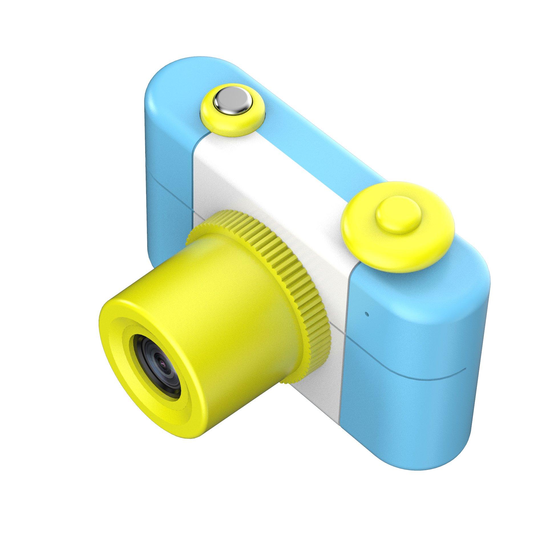 CamKing Kids Children's Camera, 1.5 Inch Screen Mini Digital Camera (Blue) by CamKing (Image #3)