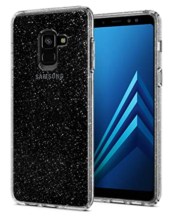 check out 372ab af1a9 Galaxy A8 Case Spigen Liquid Crystal - Slim Protection and Premium Clarity  for Samsung Galaxy A8 (2018) - Glitter Crystal Quartz
