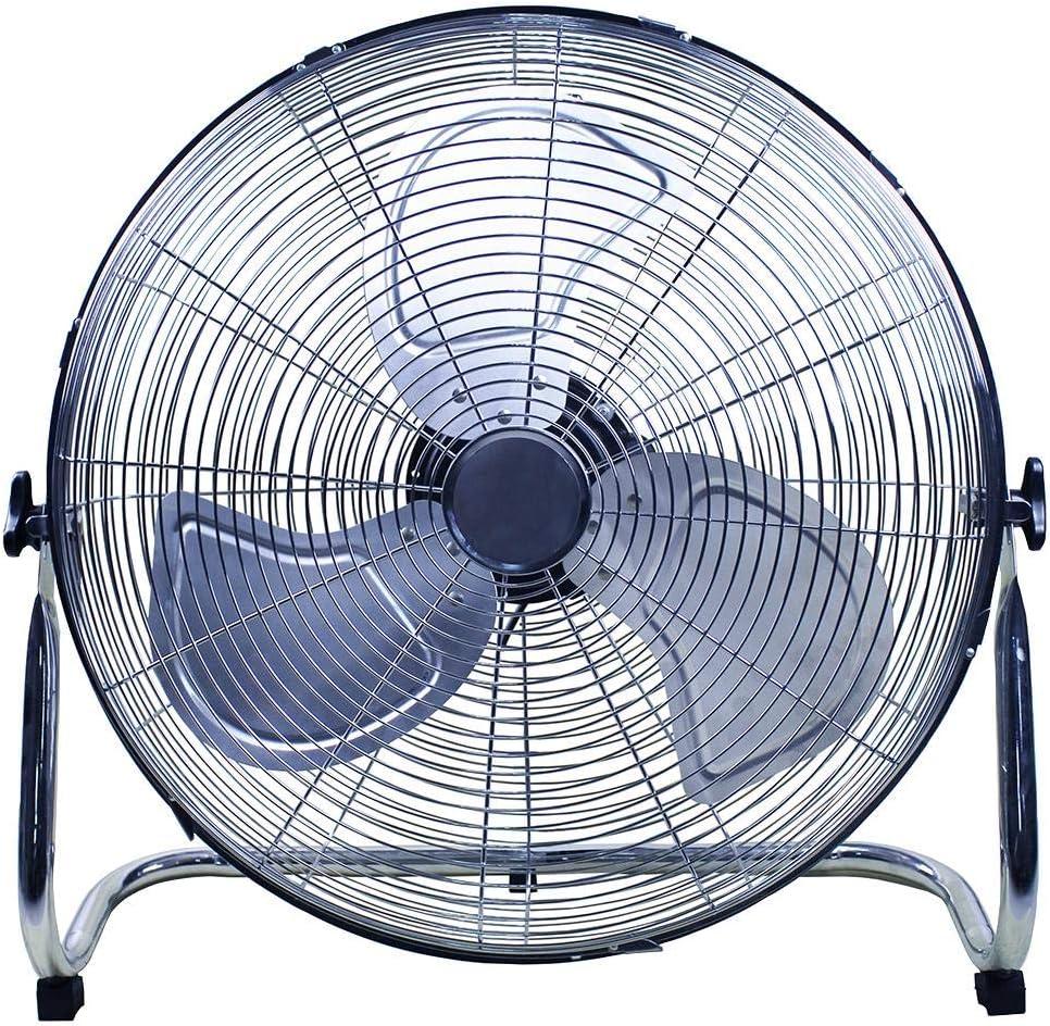 18 High Velocity Floor Fan Chrome