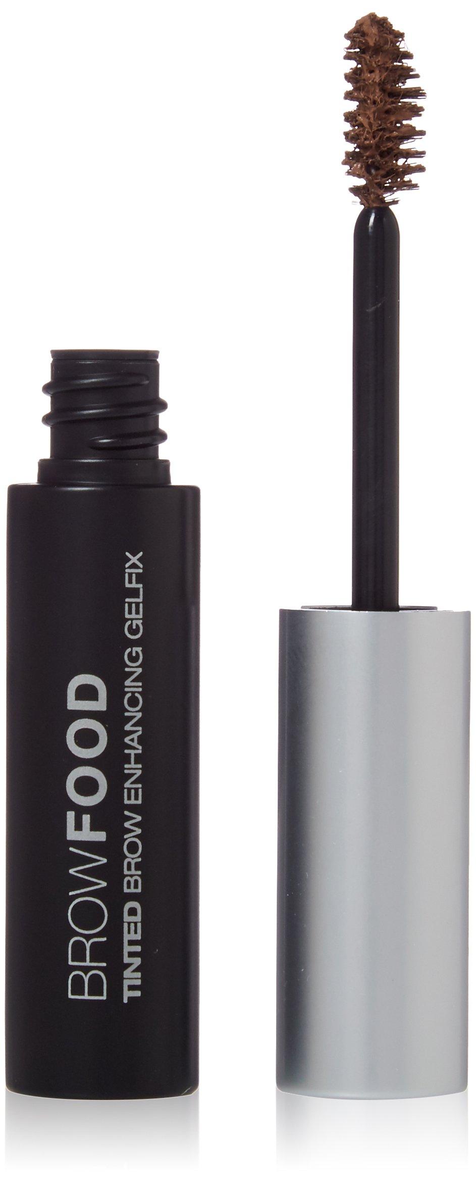 LashFood Browfood Tinted Brow Enhancing Gelfix for Women, Dark Blonde, 0.06 Pound