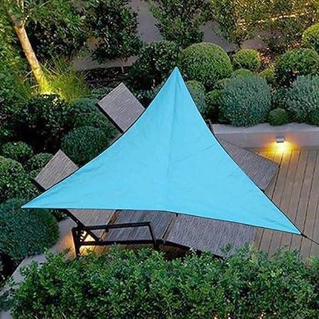 Impermeable A Prueba de Sol Triángulo Toldo Sombra Vela Aire Libre Sombrilla Sombrilla Jardín Patio Piscina Camping Picnic: Amazon.es: Hogar