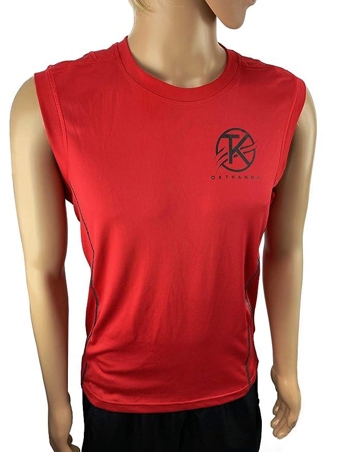 OKTHANNA Camiseta de Hombre sin Mangas Practica Deportes como ...
