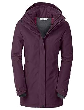 VAUDE WO Altiplano Wool, Chaqueta de montaña para Mujer, Mujer, 401929620380, Fucsia