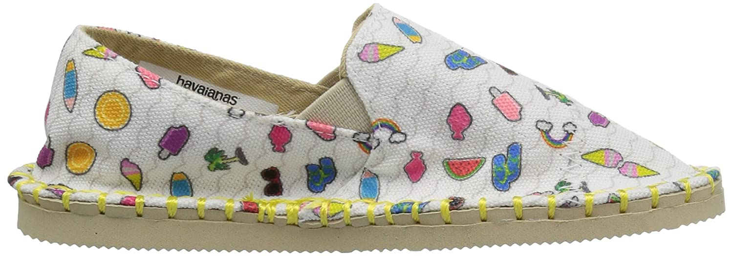 Havaianas Kids Origine Yacht Joy Espadrille,Beige,29//30 BR 13-1 M US Little Kid