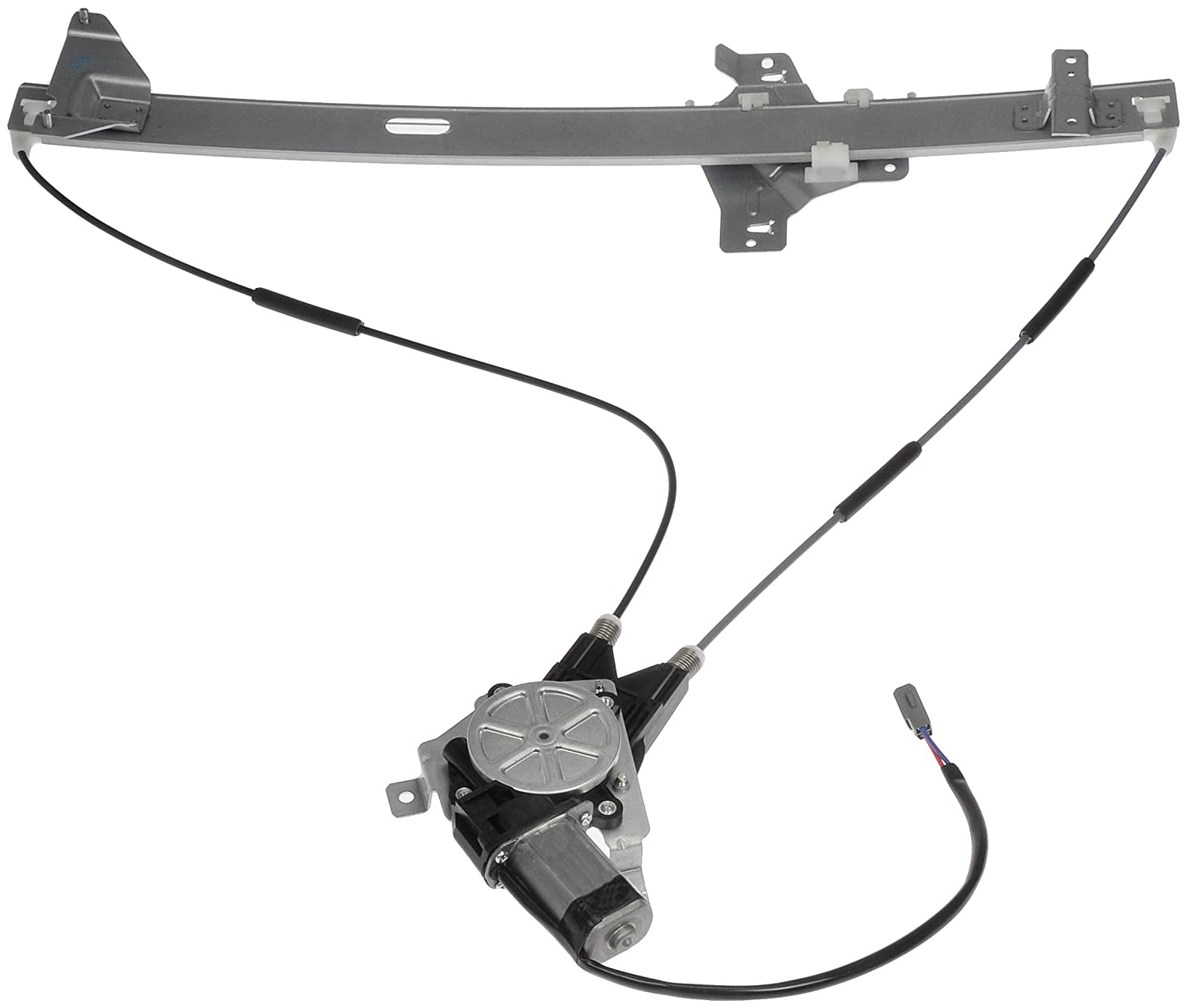 Dorman 741 586 Front Driver Side Replacement Power 2006 Jeep Rear Wiper Wiring Window Regulator With Motor For Ford E Series Van Automotive