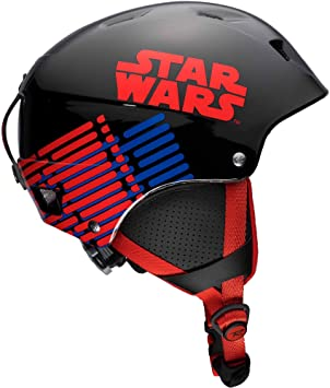 Rossignol Comp J Star Wars Casco de esquí Junior, Unisex niños, Black/Red