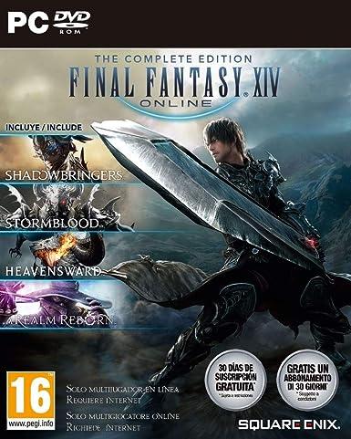 Oferta amazon: Final Fantasy XIV: Shadowbringers - Complete Edition (PC)