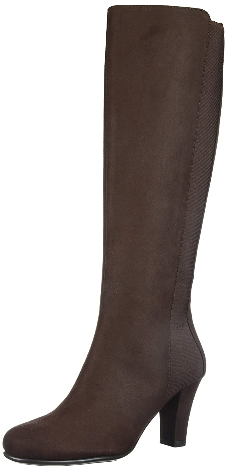Aerosoles Women's Quick Role Knee High Boot B074GGFVWZ 9.5 M US|Brown Fabric