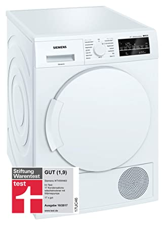 Siemens WT45W463 - Secadora (Independiente, Carga frontal ...