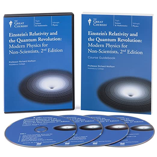 Einsteins Relativity and the Quantum Revolution Modern Physics for Non-Scientists, 2nd (Audiobook)
