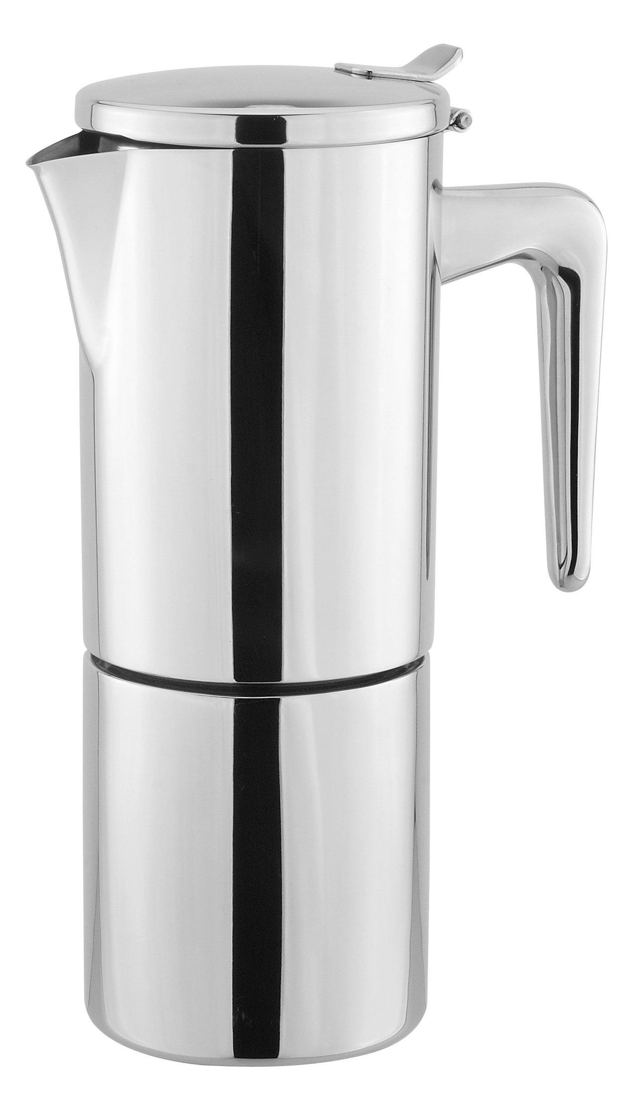 Cuisinox Stainless Steel Alpha 10-Cup Espresso Coffeemaker