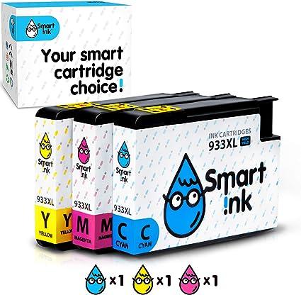 Amazon.com: Smart de tinta cartucho de tinta compatible de ...
