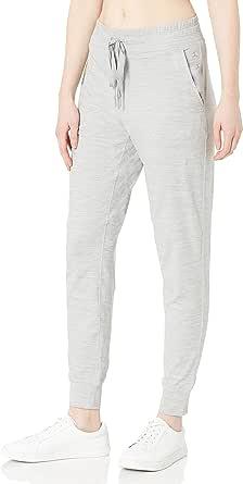 Danskin Womens 9102 Tech Stretch Jogger Pant Sweatpants