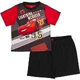 Disney Boys Cars Lightning McQueen Pyjamas Short Pjs 2 Piece Pyjama Set Size UK 3-8 Years
