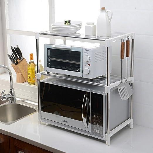 LXF Soporte microondas Rejilla de Cocina Horno de microondas Olla ...
