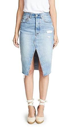 6e879c64c3 Levi s Women s Deconstructed Long Skirt at Amazon Women s Clothing ...