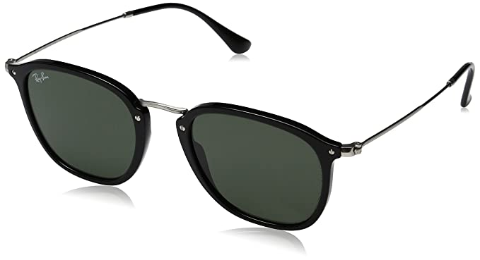 59548d54b Ray-Ban Unisex-Adult Injected Unisex Sunglass 0RB2448N Square ...