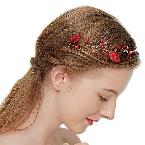 Copricapo da sposa vintage con accessori per capelli da sposa e cerimonia  nuziale in strass di 7bb3c657437e