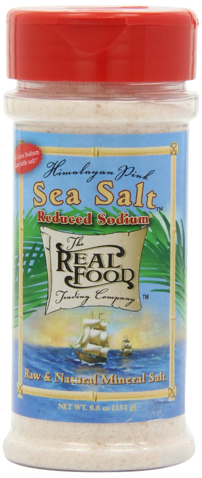 Funfresh Foods, Himalayan Pink, Sea Salt Reduced Sodium, 8.8 Ounce (Pack of 2)