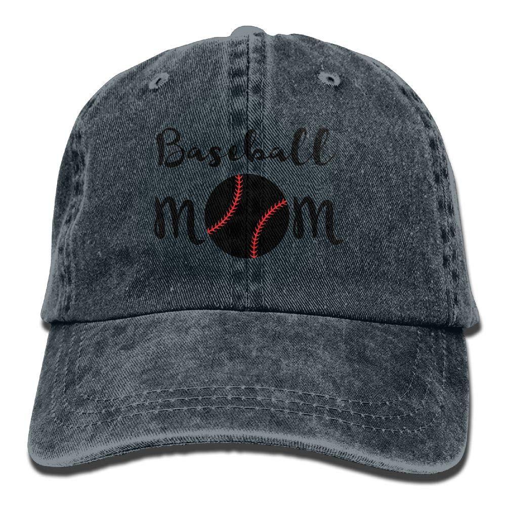 LETI LISW Baseball MomWashedBaseball Cap Adult Unisex Adjustable Hat