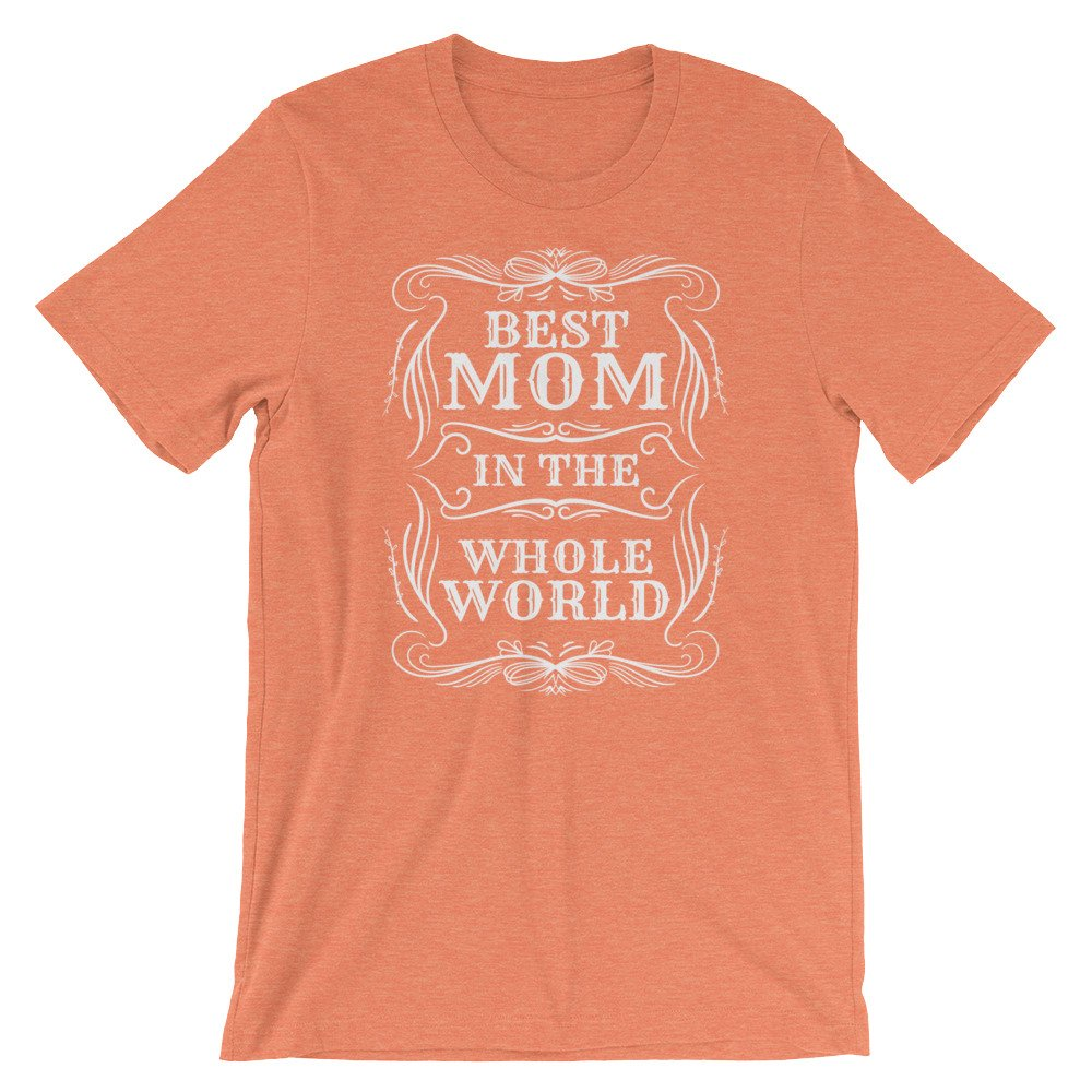 Amazon STARCOSTE Best Mom In The Whole World T Shirt For Women Happy Birthday Cute Gift Clothing