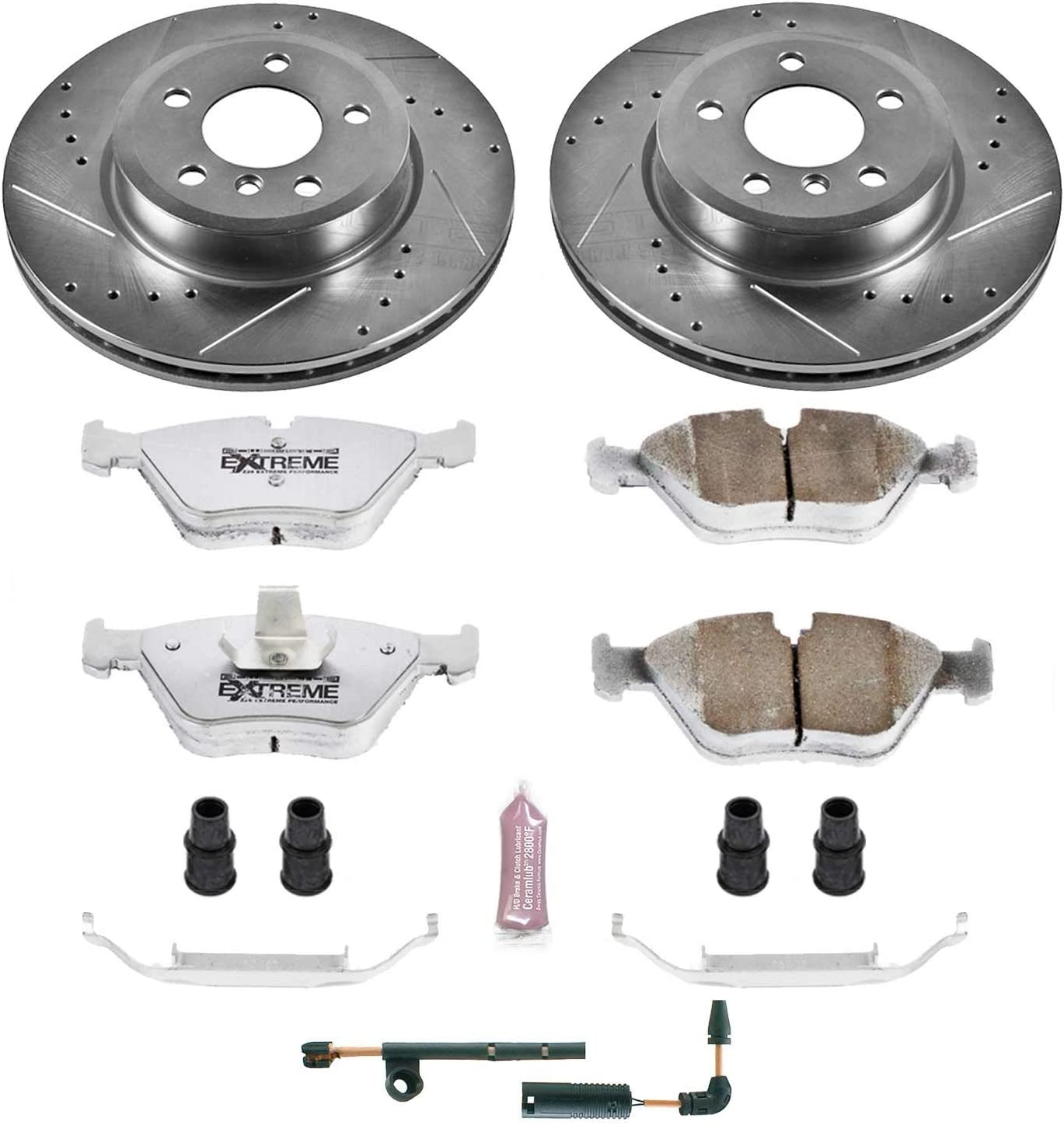 Power Stop K5298-26 Front Z26 Street Warrior Brake Kit BMW