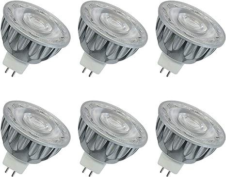 Amazon.com: Bombilla LED MR16 GU5.3 COB, equivalente a 50 ...