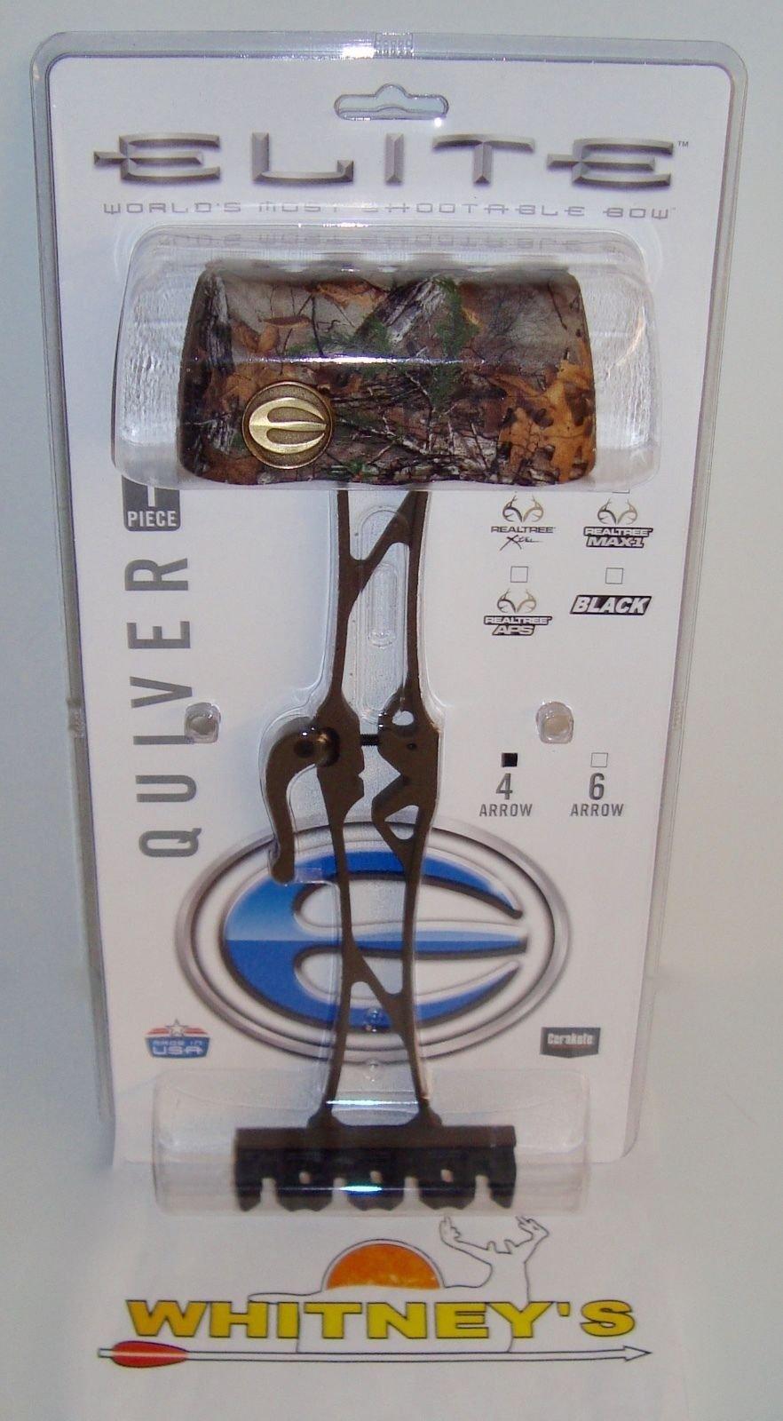 Elite 1 Piece Quiver-4 Arrow RealTree Xtra CAMO-#3684
