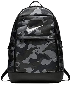 Nike BRSLA XL - Mochila universal, Gris Dark Grey/Black/White: Amazon.es: Deportes y aire libre