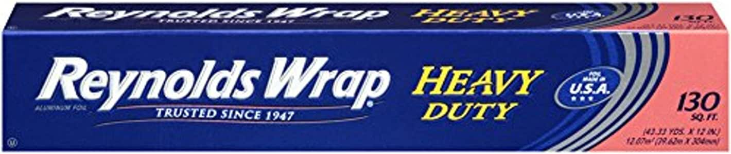 Reynolds Wrap Heavy Duty Aluminum Foil, 130 Square Feet