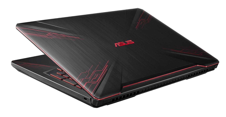 ASUS FX504GM-EN225 Ordenador port/átil Full HD de 15.6 Metalizado Teclado QWERTY Espa/ñol Intel Core i7-8750H, 16GB RAM, GeForce GTX1060, 1TB HDD + 256GB SSD, sin Sistema operativo