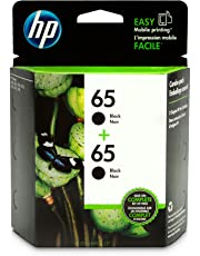 HP 65 Black Ink Cartridge (N9K02AN), 2 Cartridges (1VU22AN) for HP DeskJet 2624 2652 2655 3722 3752 3755 3758