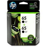 HP 65 | 2 Ink Cartridges | Black | N9K02AN