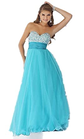 013 all colour size Evening Dresses party full Length Prom gown ball dress robe (6