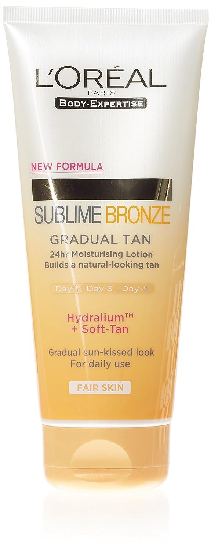 L'Oreal Sublime Bronze Moisturising Lotion Light Tan 200ml Groceries 3600522216650